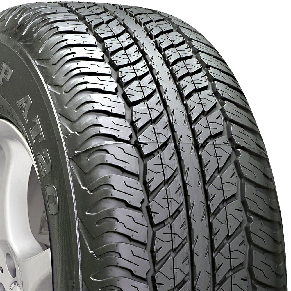 4 new p245 75 16 dunlop grandtrek at20 75r r16 tires ebay. Black Bedroom Furniture Sets. Home Design Ideas