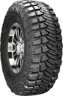 Goodyear Wrangler MT/R with Kevlar tires