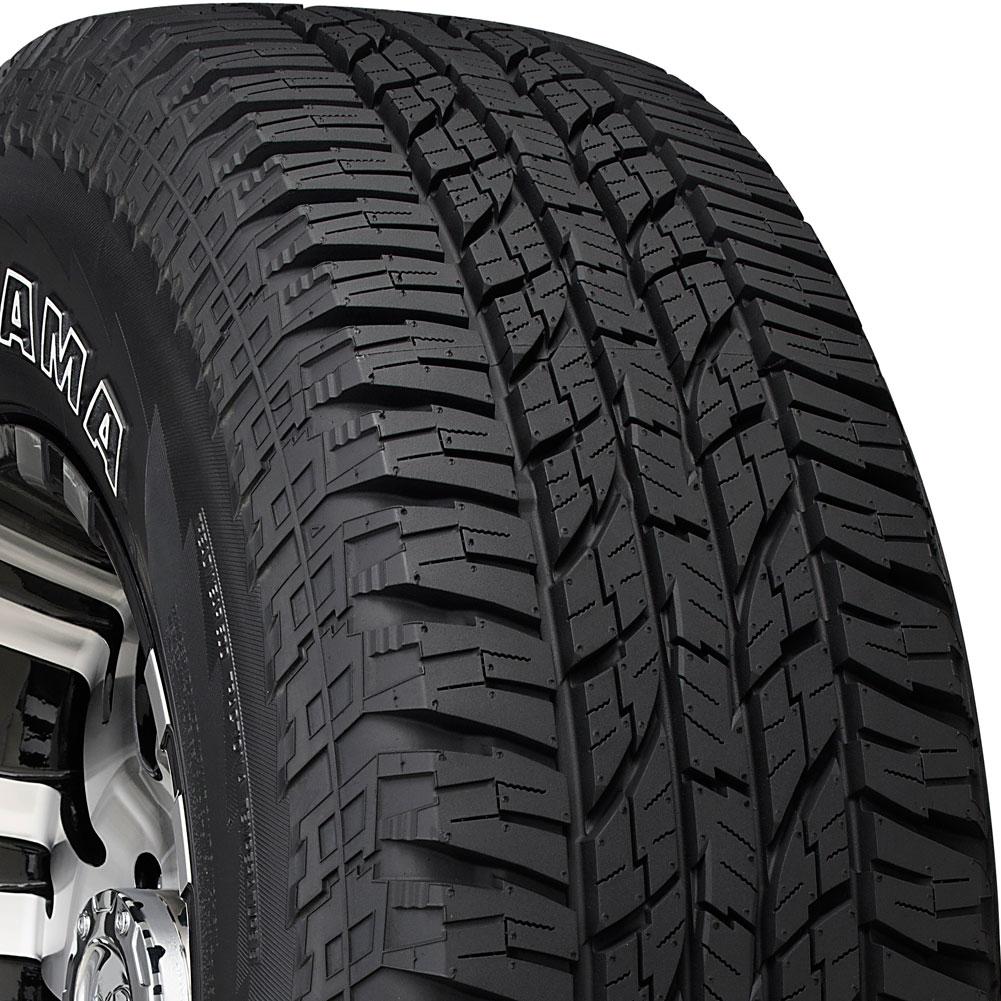 4 new 265 70 16 yokohama geolandar at go15 70r r16 tires. Black Bedroom Furniture Sets. Home Design Ideas