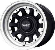 Black Rock D-Window Alloy wheels