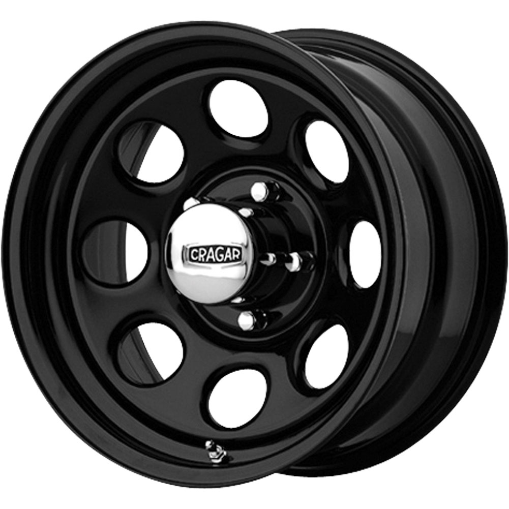 4 new 15x8 13 offset 5x114 3 cragar black soft 8 black wheels rims 15 inch ebay. Black Bedroom Furniture Sets. Home Design Ideas