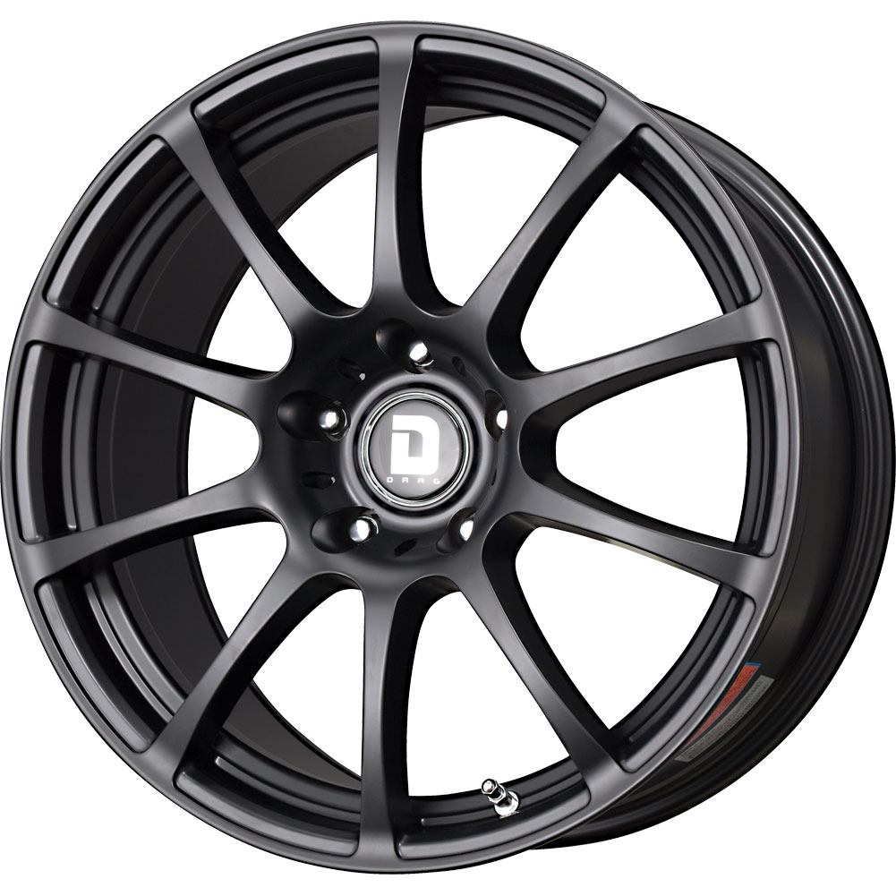 1 new 18x8 32 offset 5x112 drag dr49 black wheel rim 18 inch ebay. Black Bedroom Furniture Sets. Home Design Ideas