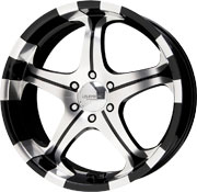 Liquid Metal Flare wheels