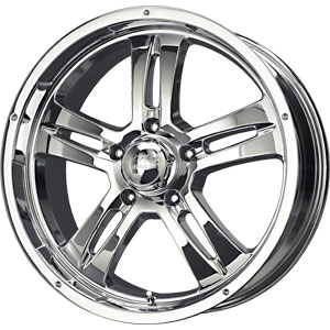 Discount Wheel  Tire on Wheel View 3 4 View Lip Cap Spoke   201