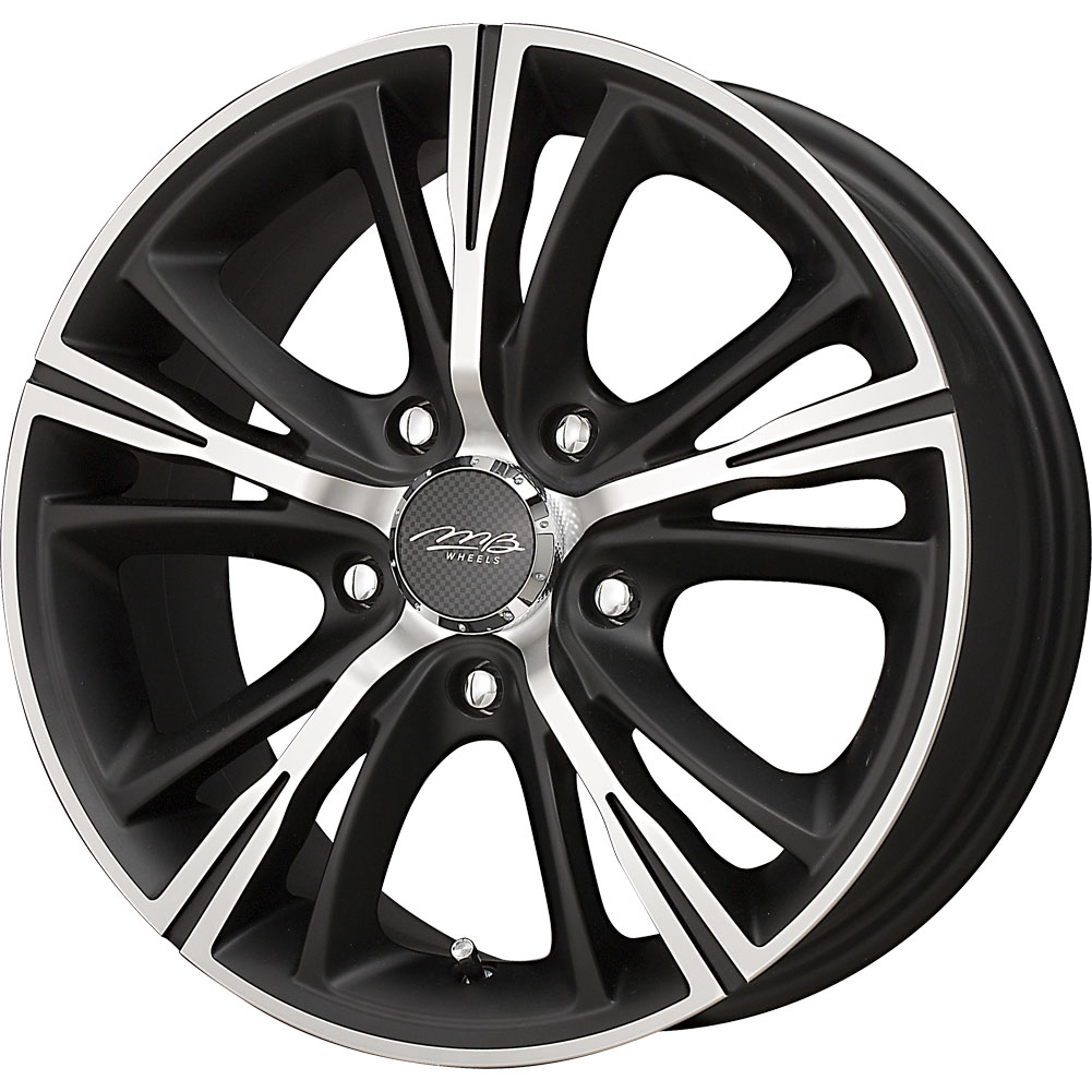 4 new 18x7 5 45 offset 5x114 3 mb wheels optima black wheels rims 18 inch ebay. Black Bedroom Furniture Sets. Home Design Ideas
